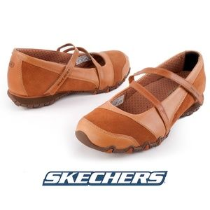 Skechers Active Bikers Step Up Mary Janes - 8.5